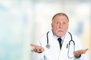 medico não sabe como salvar vidas relacionadas a Corona Vírus - Vocabulário de Inglês.